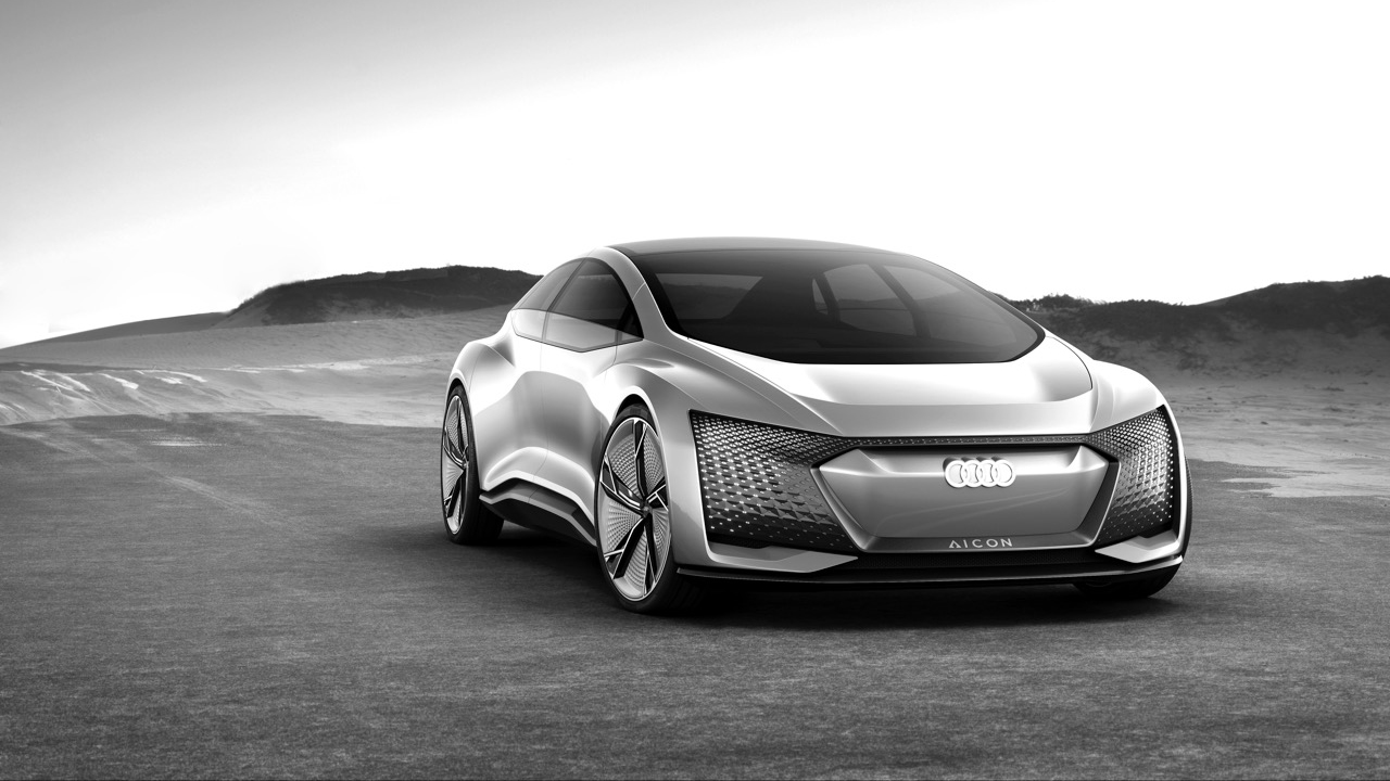 The concept car Aicon from Audi.