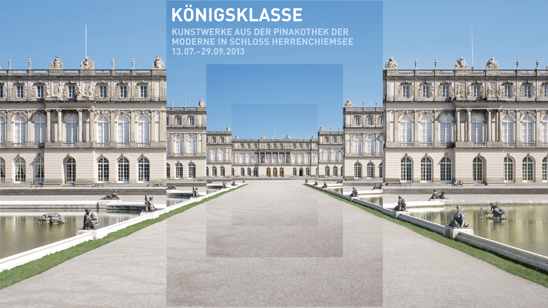 The appearance of the Königsklasse 2013 at Schloss Herrenchiemsee.