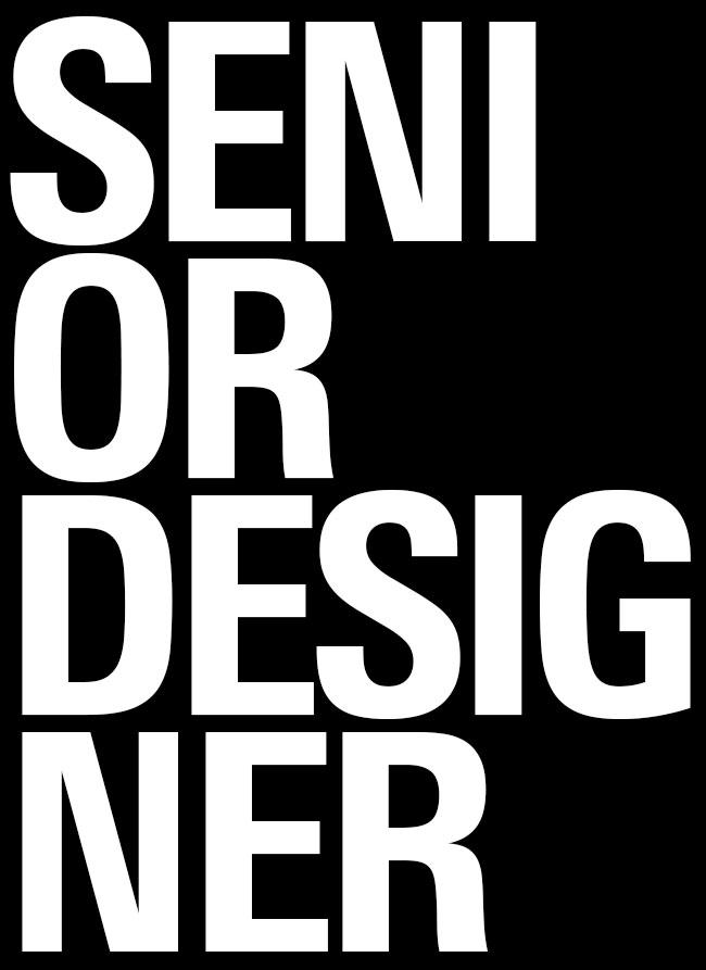 Senior Designer Spatial Communication