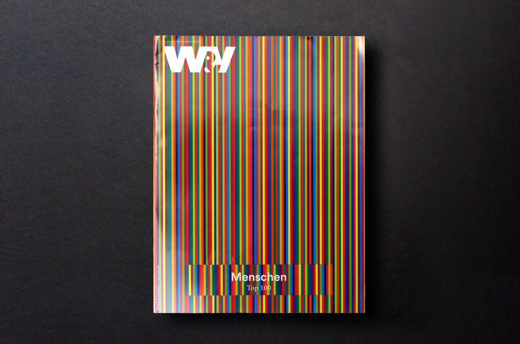 The picture shows the cover of W&V.