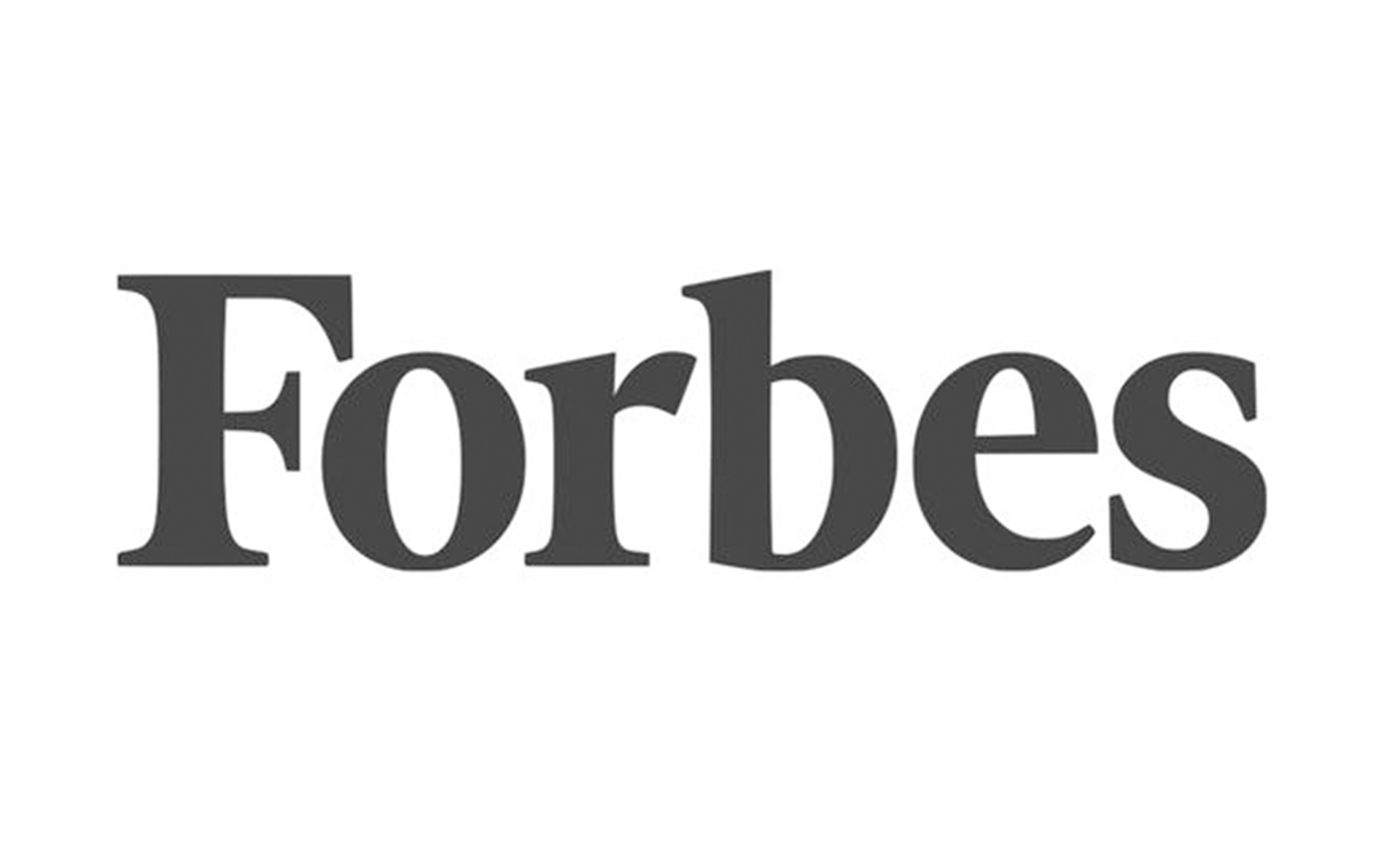 The picture shows the Forbes logo.