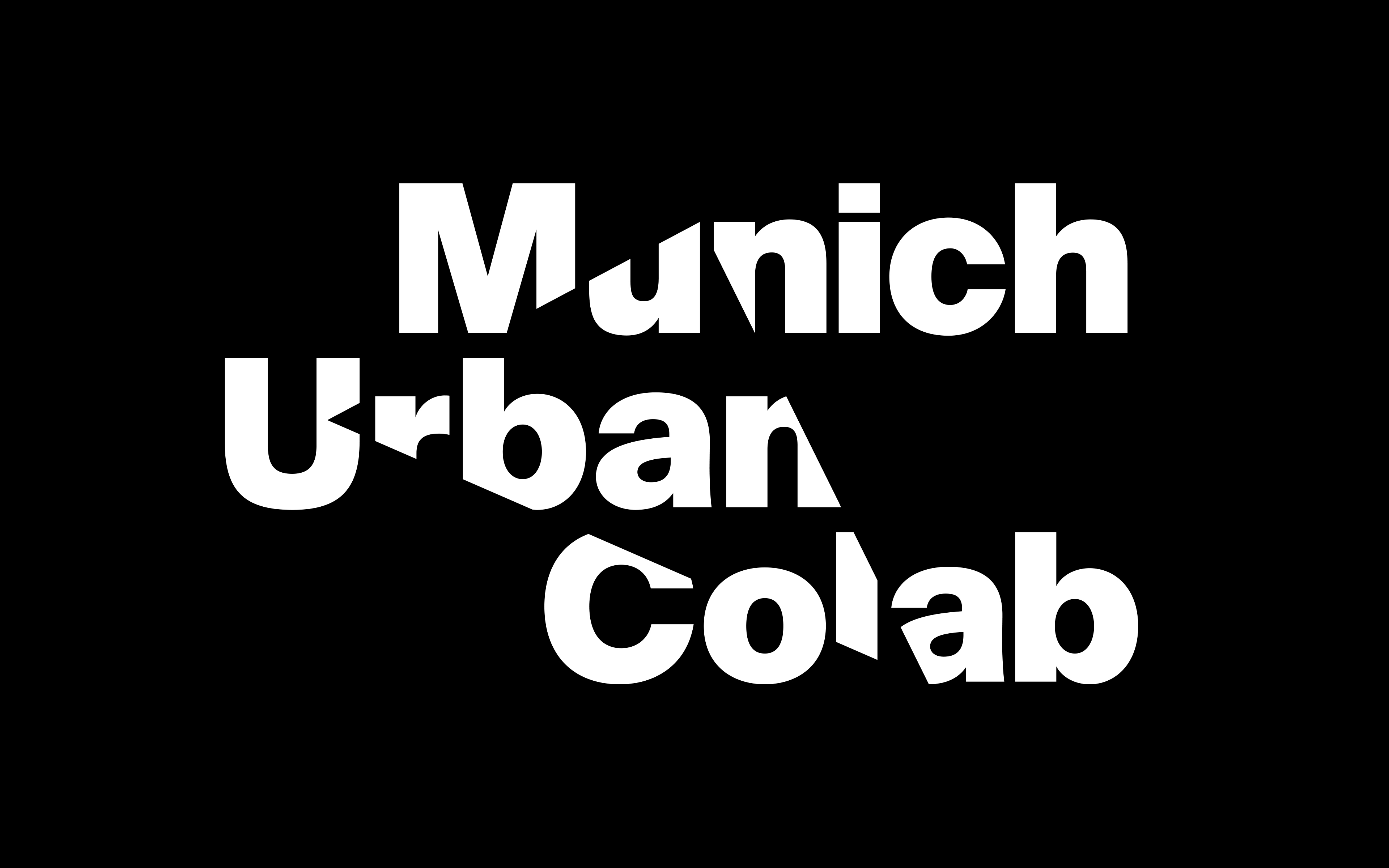 The picture shows the logo of the Munich Urban Colab.